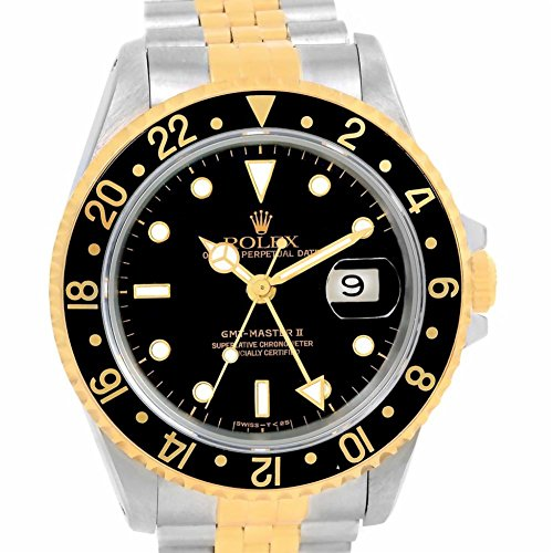 Rolex GMT Master II automatic-self-wind womens Watch 16713 (Certified Pre-owned) by Rolex