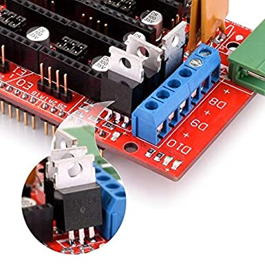 Quimat Kit de Impresora 3D Compatible con Proyectos Ardui-IDE/Mega ...