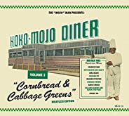 Koko-mojo Diner 2 Cornbread & Cabbage Greens (Various Arti
