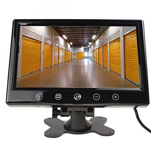 17, 8 cm 7 Zoll Inch TFT LCD Video Ü berwachungsmonitor fü r Live Ü berwachung Ü berwachungssystem und Ü berwachungskamera mit zwei Videoeingä ngen YMPA LCM-ST7UE