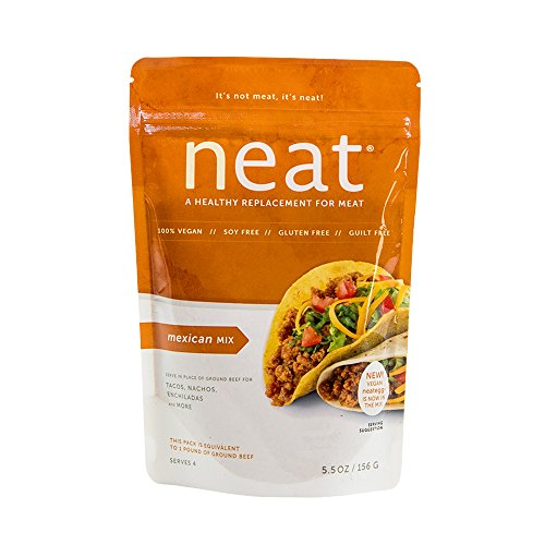 Neat, Whole Food Plant-Based Vegan Mexican Mix, 5 5 oz