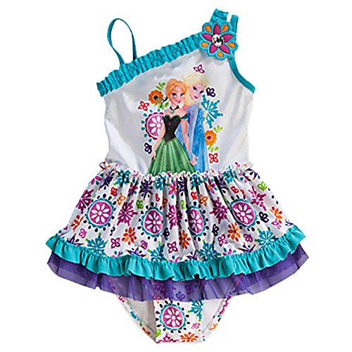 Disney Frozen Girls Piece Swimsuit