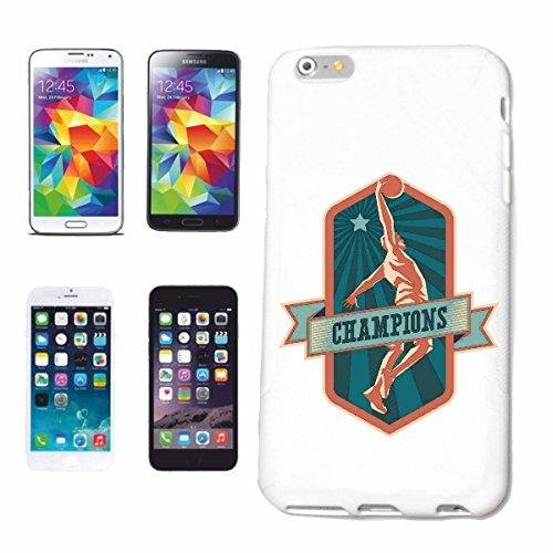 caja del teléfono iPhone 7 Equipo de baloncesto Club Baloncesto Jugador de básquet Jugador Caso duro de la cubierta Teléfono Cubiertas cubierta para el Apple iPhone en blanco