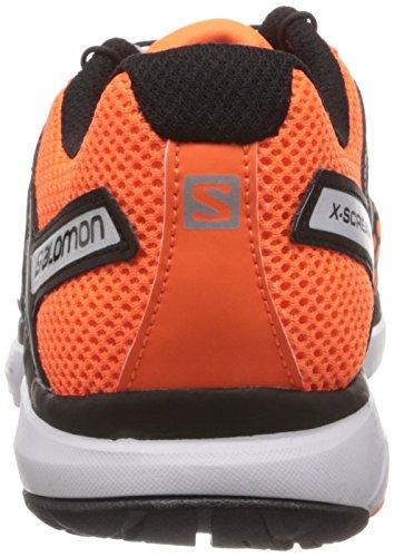 Salomon X-Scream - Salomon X-Scream Fluo Orange Mignight Blue White 42.5 Hombre Arancione/Nero