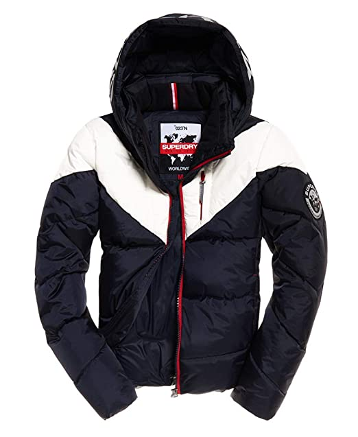 Superdry Mens Albion Jacket Navy