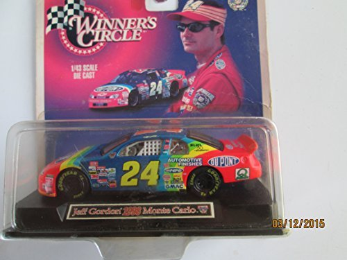 - Winners Circle 1/43 Scale Die Cast Jeff Gordon