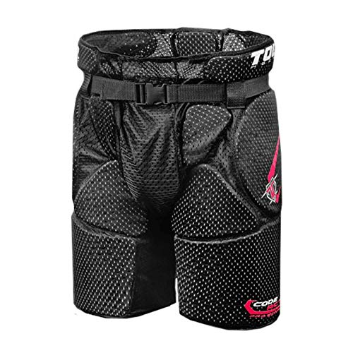 - Tour Hockey Adult Grunt 50Bx Hip Pads, Large, Size 03