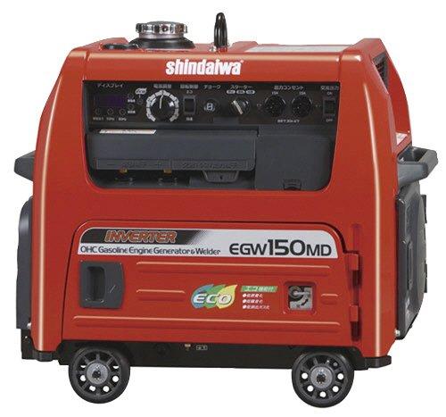 新ダイワ 発電機 兼用 溶接機 EGW150MD-I