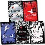 Maggie Stiefvater Wolves of Mercy Falls 5 Books Collection Pack Set (Shiver, Linger, Forever (Wolves of Mercy Falls), Lament, Ballad)