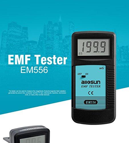 Emf Detector - all-sun Digital EMF Meter Electromagnetic Radiation Detector Dosimeter
