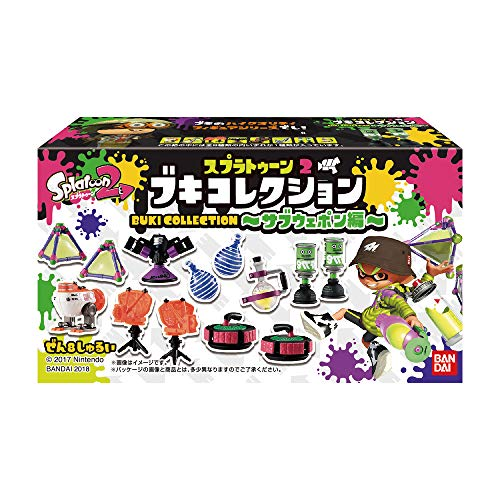 - Splatoon 2 - Weapon Collection -Sub Weapons- 8Pack Box (Candy Toy)