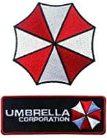 Set of Umbrella Corp and Umbrella Resident Evil Costume Patches
