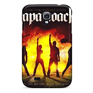Shock Absorption Cell-phone Hard Covers For Samsung Galaxy S4 (UlO7587GXlG) Customized High Resolution Papa Roach Image