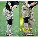 Tac Tic Knee Elbow Wrist Over Glove 3 pc Combo Golf Swing Training Aid Bundle