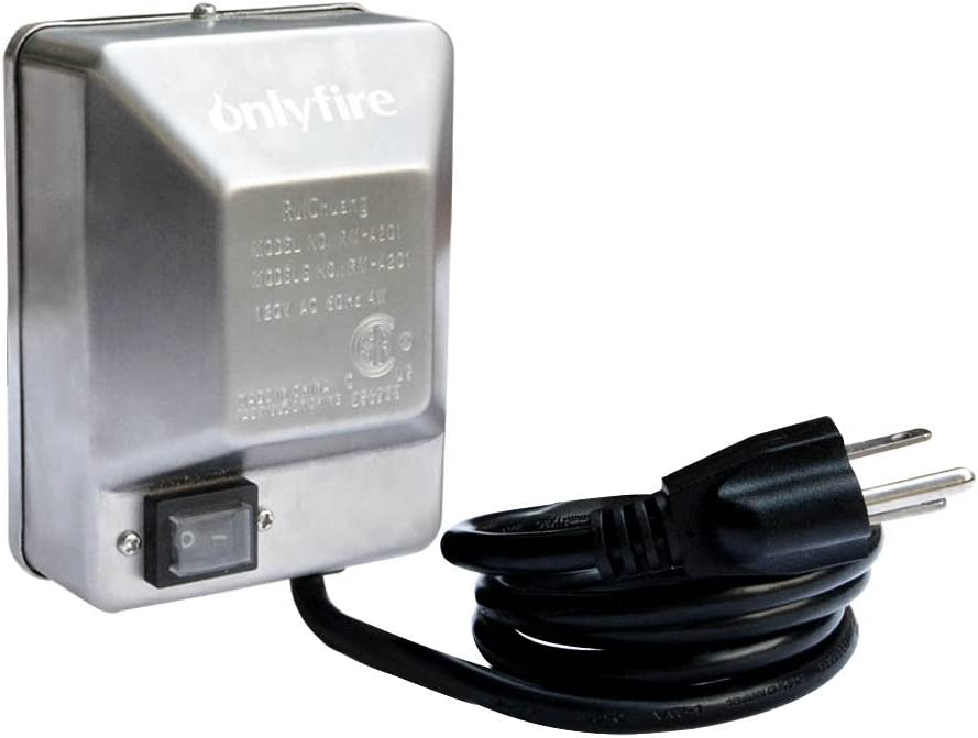 Onlyfire Universal Grill Electric Replacement Stainless Steel Rotisserie Motor 120 Volt 4 Watt On/Off Switch- 40 lb. Load, OEM/ODM, Aftermarket : Garden & Outdoor