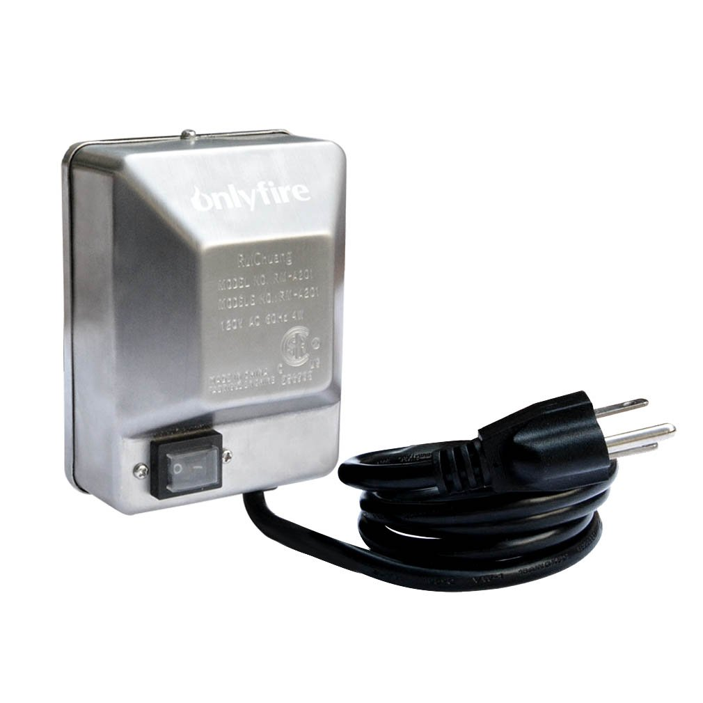Onlyfire Universal Grill Electric Replacement Stainless Steel Rotisserie Motor 120 Volt 4 Watt On/Off Switch- 40 lb. Load, OEM/ODM, Aftermarket by only fire