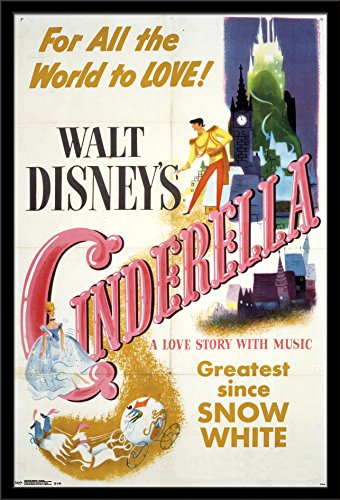Trends International Wall Poster Cinderella One Sheet, 24 x