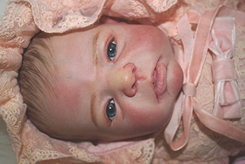 Oumeinuo Reborn Baby Doll Silicone vinyl 22inch 55cm Magn...