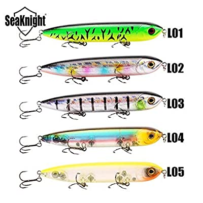 Fishing Lures - Seaknight Sk026 Pencil 1pc 26g 128mm Fishing Lure Topwater Artrificial Bait Hard Fishing Lure - Fishing Lures For Bass Saltwater Hard Bait Freshwater Rebel Crank Baits