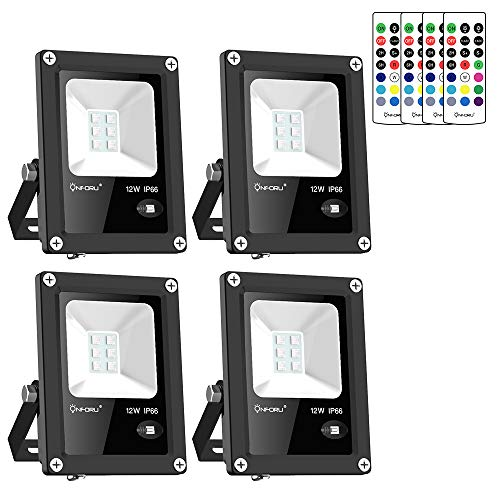 Led 10W Rgb Colour Changing Flood Light Ip65 in US - 8