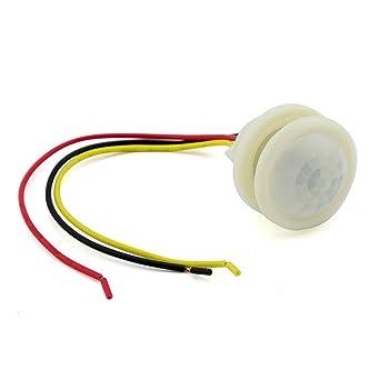 Oculta tipo de pared soporte de techo Wired AC 180 – 220 V Sensor de movimiento