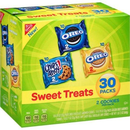 Nabisco Sweet Treats Variety Pack, 30 ct, 23.3 oz