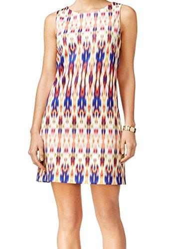 [Tahari Women's Corey Pinstriped Belted Skirt Suit (6, Black/White)] (Pinstriped Skirt Suit)
