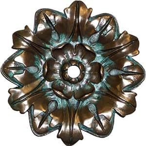 Pentair 5824704 WallSpring Brass Basque Rosette Decorative Accent