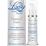 Vitamin C Moisturizer for Face & Neck, Anti Wrinkle Face Cream for Women Anti-Aging Lotion with Jojoba Oil, a Day or Night Cream Moisturizer for Reducing Hyperpigmentation plus Antioxidant Protection