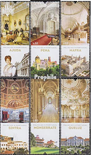 Portugal 3770-3775 (Complete.Issue.) 2012 Palaces (Stamps for Collectors)