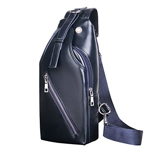 Men Multi purpose Blue Shoulder Travel Business Diagonal Package Laidaye Casual Backpack Leisure 60qdCO6wx