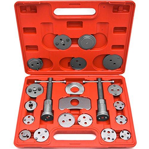 22Pc Disc Brake Caliper Piston Wind Back Tool 4WD 4x4 SUV Maintenance Hand Tool KapscoMoto