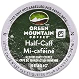 Green Mountain Coffee Roasters Half-Caff Keurig Single-Serve K-Cup Pods, Medium Roast Coffee, 24 Count