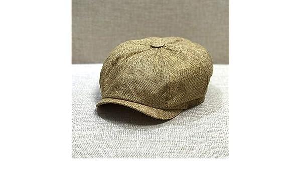 sdssup Gorra de Verano Mujer Camel L Grande 60 cm: Amazon.es: Hogar