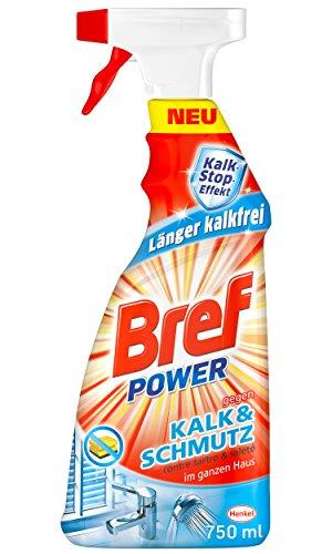Bref Power gegen Kalk und Schmutz, 4er Pack (4 x 750 ml)