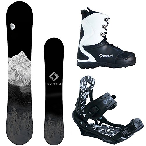 System 2020 Snowboard Package
