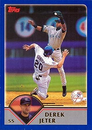 Amazoncom 2003 Topps 400 Derek Jeter Baseball Card