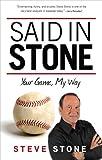 Said in Stone, Steve Stone, 1600788203