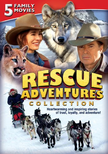 Cougars Legend - Rescue Adventures Collection: Five Family Movies (The Legend of Cougar Canyon / George! / Night of the Wolf / Poco: Little Dog Lost / Toby McTeague)