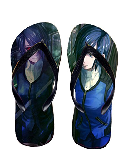 Bromeo Tokyo Ghoul Anime Unisex Flip Flops Chanclas 49