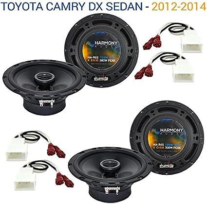 Toyota FJ Cruiser 2007-2014 Factory Speaker Upgrade Harmony R69 /& CXA300.4 Amp