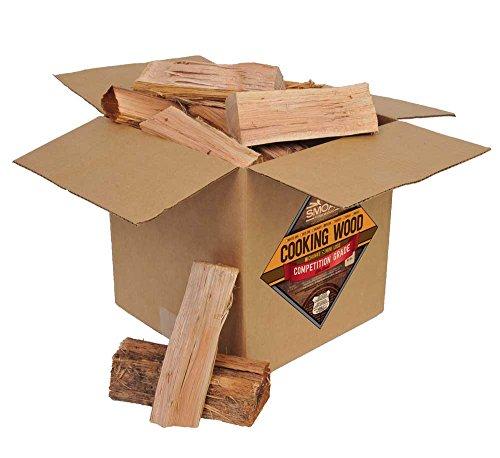 Smoak Firewood Cooking Wood Logs - USDA Certified Kiln Dried (Pecan, 25-30 (7 Piece Pecan)