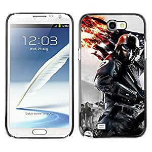 Hot Style Cell Phone PC Hard Case Cover // M00102314 warrior nature // Samsung Galaxy Note 2 II N7100