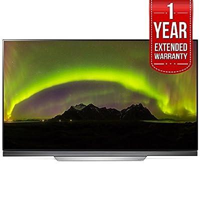 "LG OLED55E7P - 55"" E7 OLED 4K HDR Smart TV (2017 Model) + Extended 1 Year Warranty Bundle"