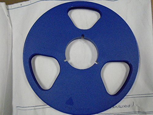 "NEW Royal Blue NAB Plastic Take Up for 1/4"" Reel to Reel Tape 10.5"""