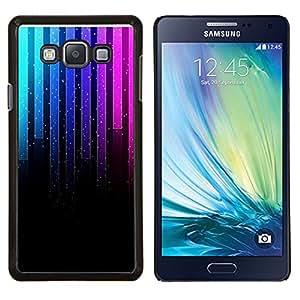 LECELL--Funda protectora / Cubierta / Piel For Samsung Galaxy A7 A7000 -- Música de neón Gráfico --