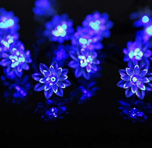 Flower Outdoor Fairy Lights in US - 8