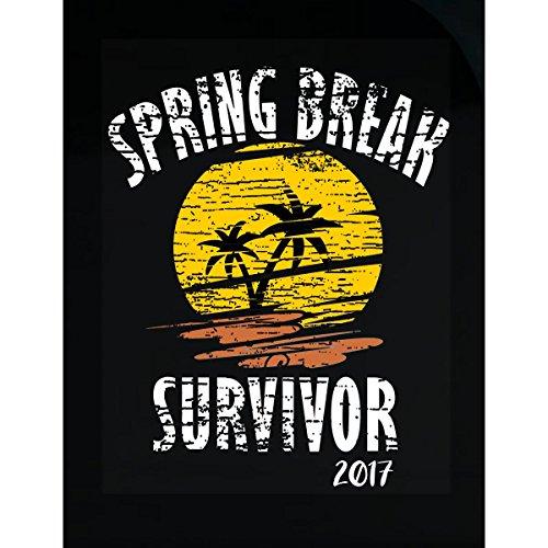 Prints Express Spring Break 2017 Survivor Drinking Bar Crawl Party - Sticker]()