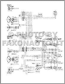 1967 Chevy Wiring Diagram Reprint Impala SS Caprice Bel ...