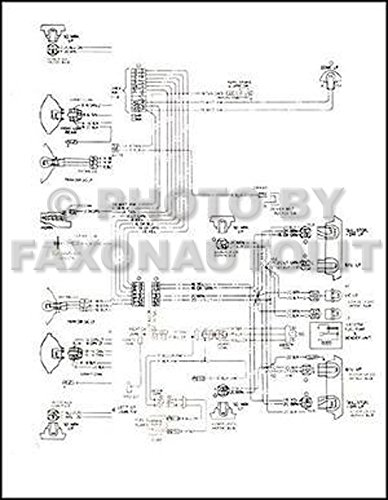 1963 Ford F-100 thru F-750 Truck Wiring Diagram Manual Reprint